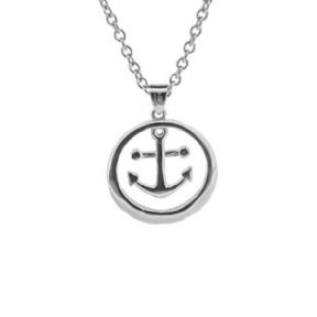 Outlander Inspired Anchor Stainless Steel Pendant 1063